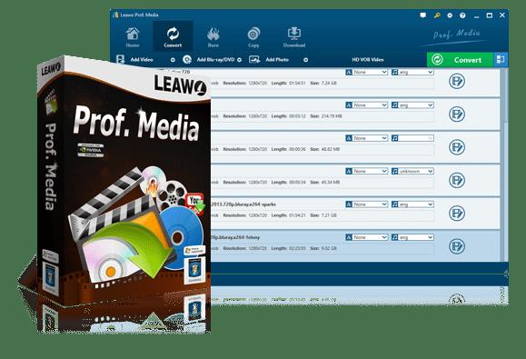 Leawo Prof. Media 9.6.3.4 Crack + License Key Full New Version Latest [2021]